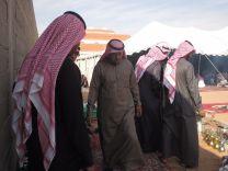 يحتفل بمناسبة فوزه بالمجلس البلدي بمدينة الخطة