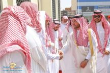 نائب أمير منطقة حائل يؤدي الصلاة على شهيد الواجب فارس الشمري