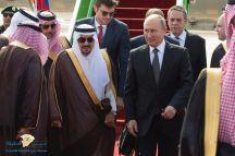بوتين يصل إلى الرياض في زيارة رسمية للمملكة