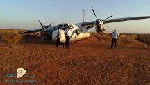 هبوط اضطراري لطائرة في صحراء بالسودان بسبب نفاد الوقود