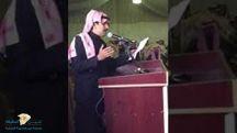قصيدة شاعر النخوة في حفل اهالي بقعاء