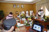 سمو أمير حائل رئيس الهيئة العليا لتطوير المنطقة يرأس اجتماع لجنة السلامة المرورية .
