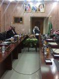 الإجتماع الإعتيادي الثالث عشر للمجلس البلدي بمحافظة الشملي
