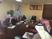 المجلس البلدي  بمحافظة الشنان يعقد اول اجتماعاته باختيار تراك الكتفاء رئيسا وخلف الطريفي نائباً