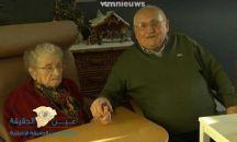 أقدم زوجين ببلجيكا يحتفلان بعيد ميلاديهما الـ100 والـ101
