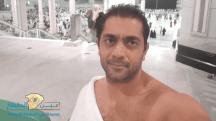 فنانون احتفلوا برأس السنة بأداء مناسك العمرة