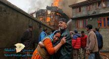 #الهند: حرق زوجين للاشتباه بممارستهما السحر