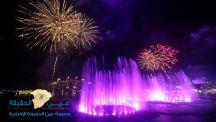 دبي تسجل رقما قياسيا لأكبر نافورة في العالم