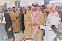 ضمن فعاليات اليوم العالمي للدفاع المدني أمير حائل يزور جناح مركز الملك سلمان لذوي الإعاقة