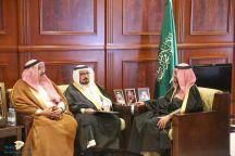 نائب أمير منطقة حائل يستقبل محافظ هيئة تنظيم الكهرباء والإنتاج المزدوج