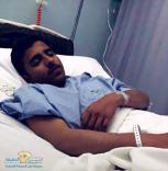 """نجاة مصور """" صحيفة عين الحقيقة """" نواف بن ماجد المسمار من حادث مروري"""