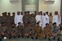 شرطة منطقة حائل تكرم وتودع سعادة اللواء/ فهد بن عامر الغنام بمناسبة تقاعده