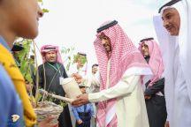 نائب أمير منطقة حائل يدشن فعاليات الأسبوع البيئي